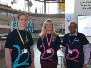 2018 Dementia Action Week with the amazing Alzheimer's Society team.